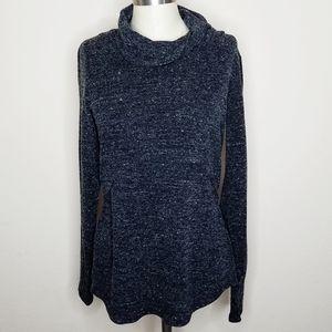 Cabi | Grey Melange Shrunken Sweatshirt Tank Top